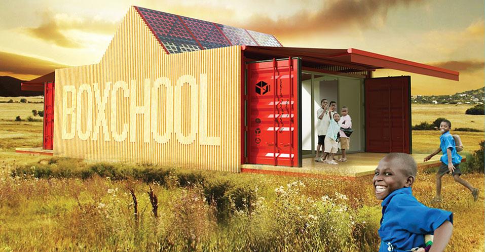 container - box school
