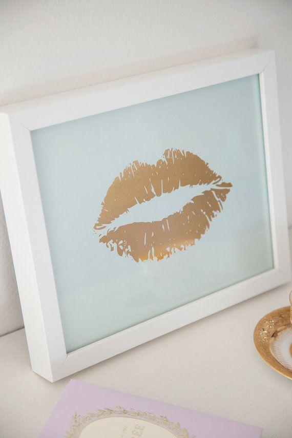 15. 15 ideias de decoração com beijo