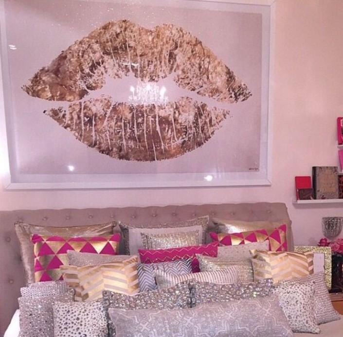20. 15 ideias de decoração com beijo