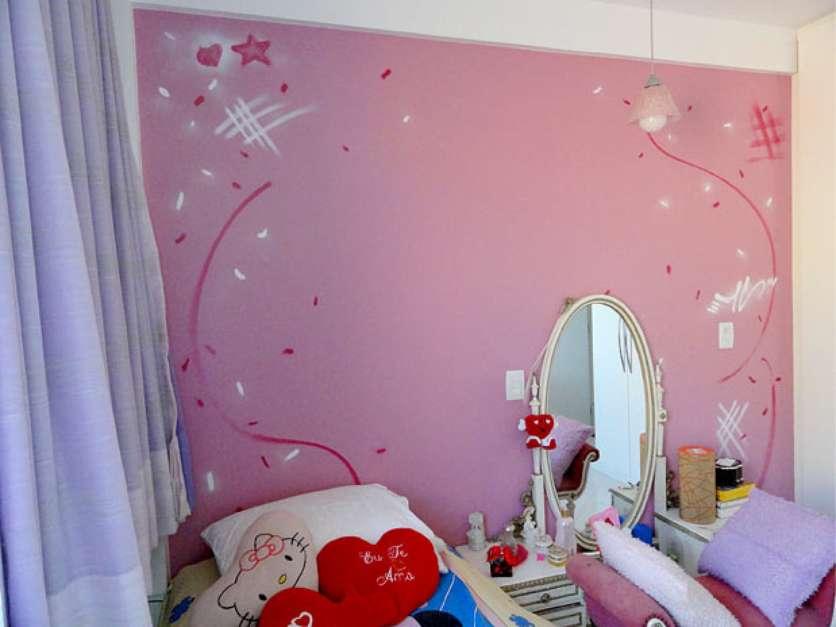 40Grafite decora paredes de casa; saiba como aproveitar a técnica