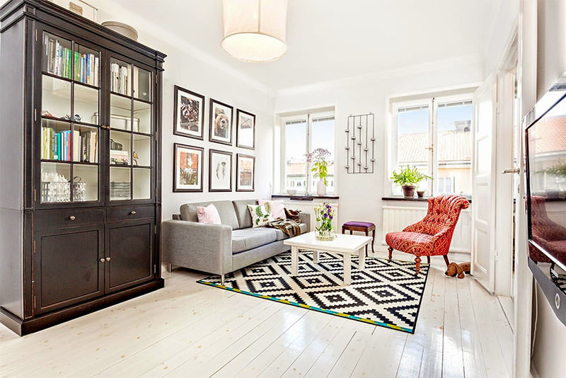 Apartamento de 42m² que esbanja charme e boas ideias 1