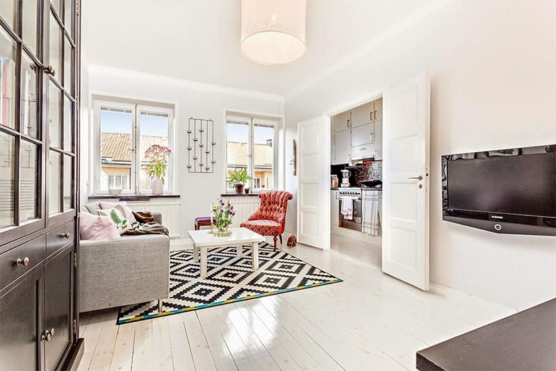 Apartamento de 42m² que esbanja charme e boas ideias 3