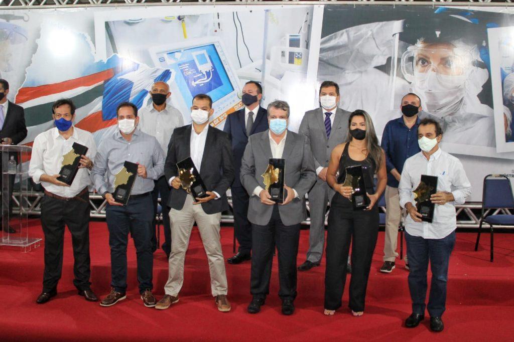 Seinc presta homenagem às empresas que apoiaram no combate ao coronavírus (Foto: Alexandre Pereira/Divulgação).